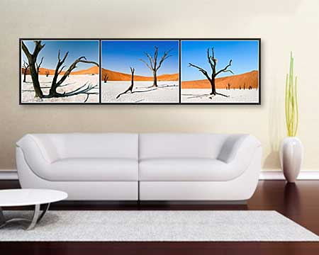 Wall Decoration Panoramic Poster Prints - dining room