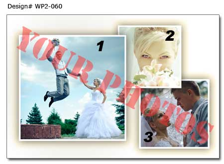 6th Wedding photo collage