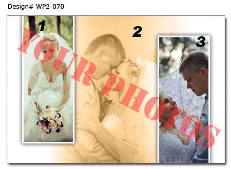 7th Wedding photo collage