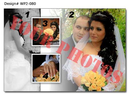 8th Wedding photo collage