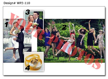 11th Wedding photo collage