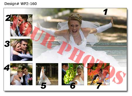 16th Wedding photo collage