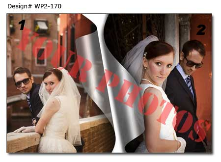 17th Wedding photo collage
