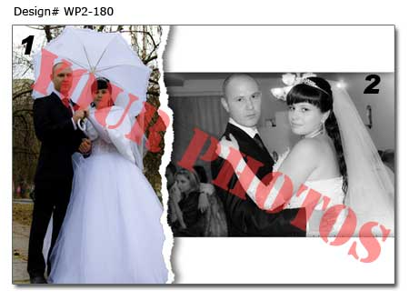 18th Wedding photo collage