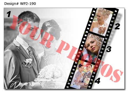 WP2-190 Wedding Poster