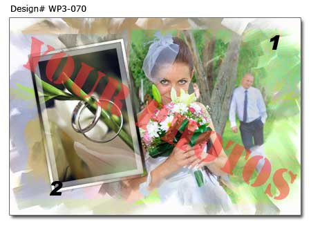 WP3-070 Wedding Poster