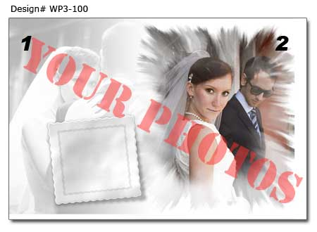 WP3-100 Wedding Poster
