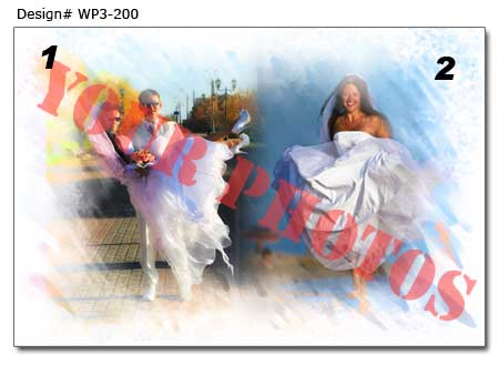 WP3-200 Wedding Poster