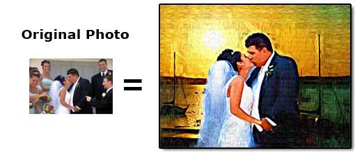 Remove unwanted people or objects from wedding photography