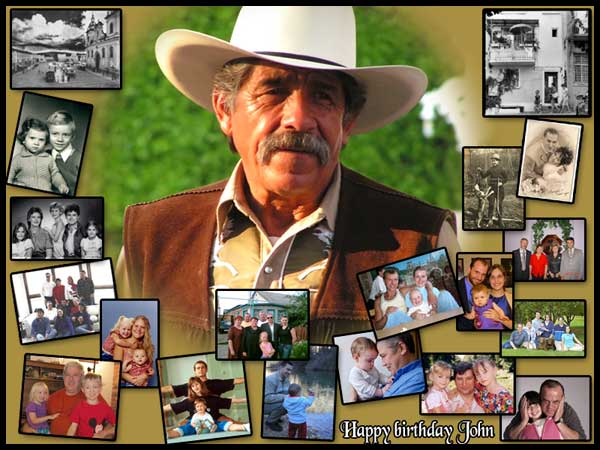 Creative 50th Birthday Photo Collage Gift Ideas For Dad