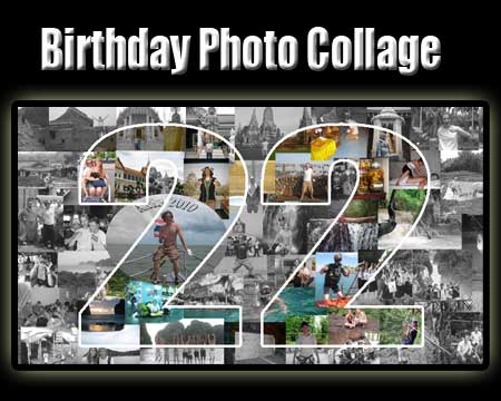 Boyfriend 22nd Birthday Photo Collage Idea Of 22 Pictures Themselves Together