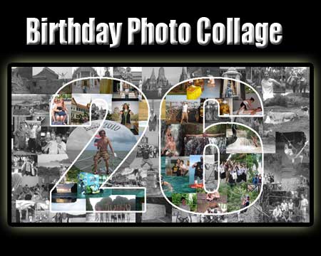 Boyfriend 26th Birthday Photo Collage Idea Of 26 Pictures Themselves Together