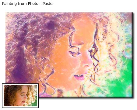 Custom Pastel Painting from your Photo