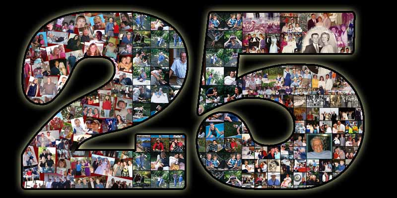 Surprise 25th Birthday Collage For 25 Year Old Wife 2627 28