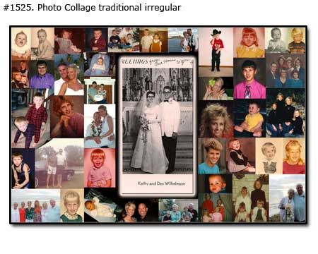 Wonderful 60th Anniversary Gifts for Husband-Wife , 60 years photo collage