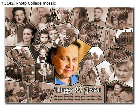 Birthday Collage Design Examples 6