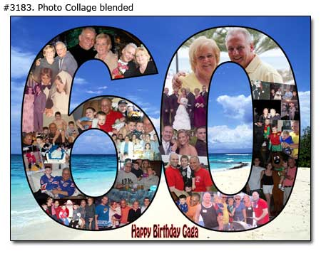 Blended Photo Collages Samples 2
