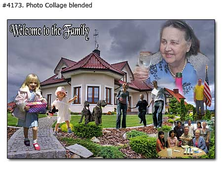 Happy birthday grandma family collage blended 4173