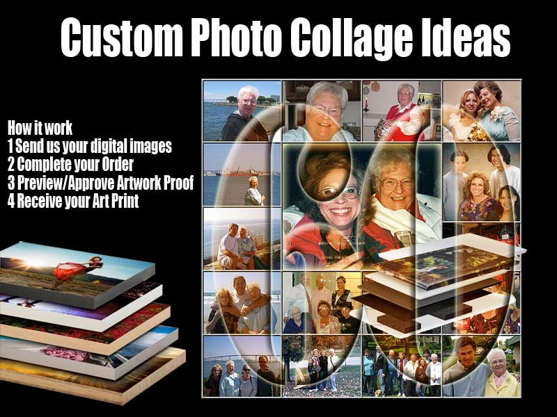 80th Birthday Photo Collage Ideas For Gifts