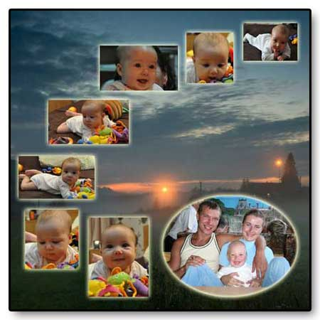 24x39 birthday 9 pictures template, printable card quotes for wife