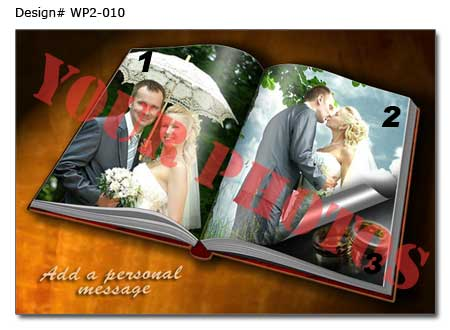 25x40 birthday photo book , with text massages for wife